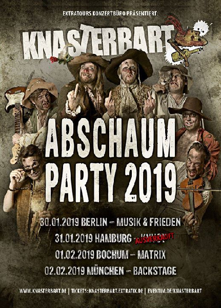 Knasterbart Abschaumparty 2019