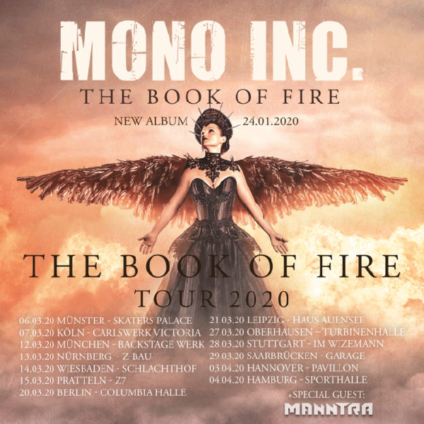 Mono Inc.: The Book Of Fire Tour 2020