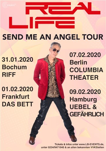 Real Life: Send Me An Angel Tour 2020