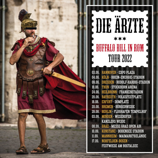 die ärzte - BUFFALO BILL IN ROM Tour 2022
