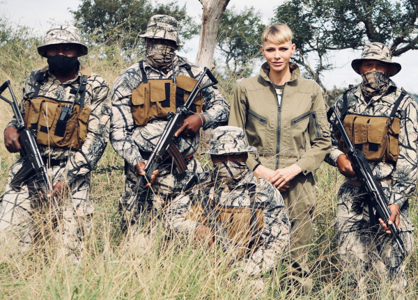 THANDA SAFARI | CHARLÈNE VON MONACO: Im Kampf gegen Nashorn-Wilderei