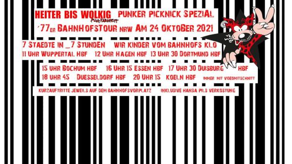 HEITER BIS WOLKIG: Bahnhofs-Tour durch NRW am 24.10.2021
