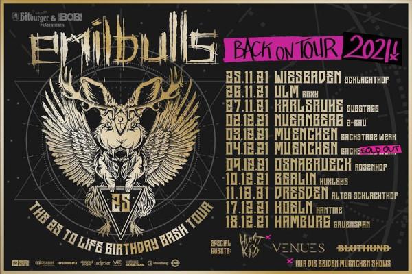EMIL BULLS: Jubiläumstour startet im November